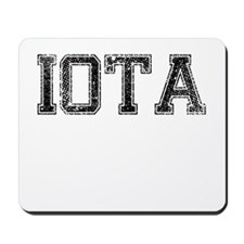 IOTA, Vintage Mousepad