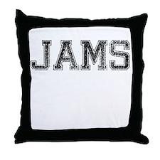 JAMS, Vintage Throw Pillow