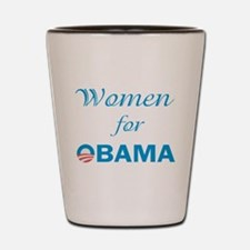 Women For Obama Shot Glass