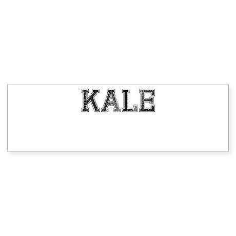 KALE, Vintage Sticker (Bumper)