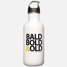 Bald, Bold & Old Water Bottle