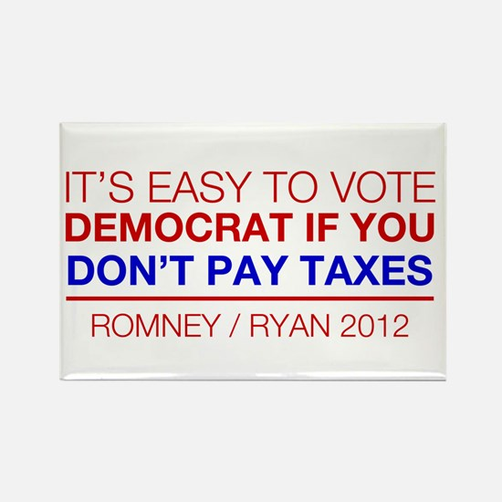 Its Easy to Vote Democrat if You Dont Pay Taxes -