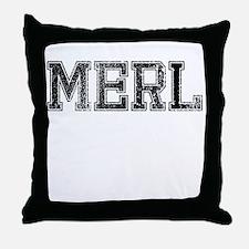MERL, Vintage Throw Pillow