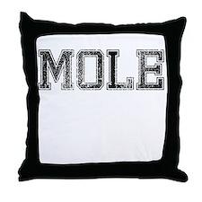 MOLE, Vintage Throw Pillow