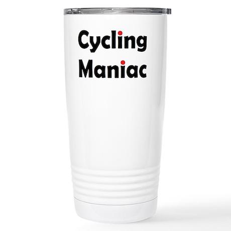 Cycling Maniac Stainless Steel Travel Mug
