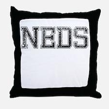 NEDS, Vintage Throw Pillow