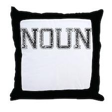 NOUN, Vintage Throw Pillow