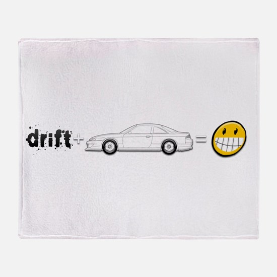 Drift and S14 is fun Throw Blanket
