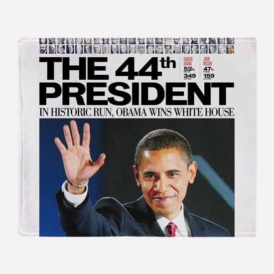 44th President.png Throw Blanket