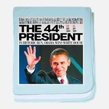 44th President.png baby blanket