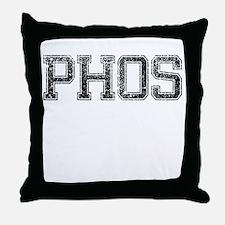 PHOS, Vintage Throw Pillow