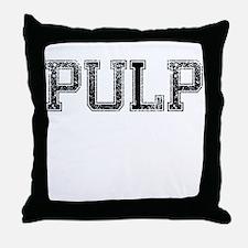 PULP, Vintage Throw Pillow