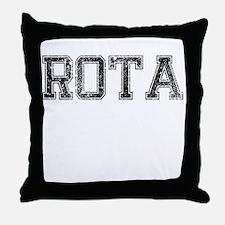ROTA, Vintage Throw Pillow