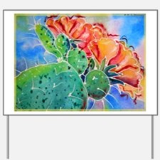 Cactus! Colorful southwest art!, Prickly Pear! Yar