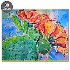 Cactus! Colorful southwest art!, Prickly Pear! Puz