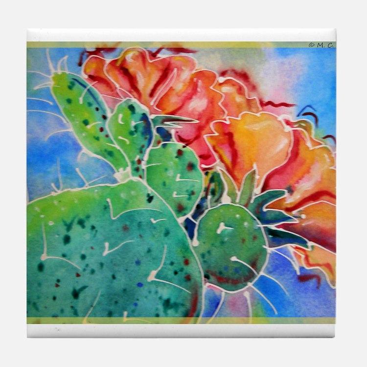 Cactus! Colorful southwest art!, Prickly Pear! Til