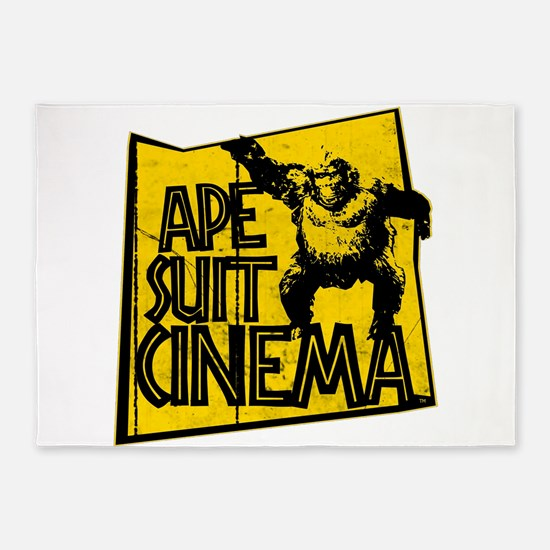 Official Ape Suit Cinema Logo 5'x7'Area Rug