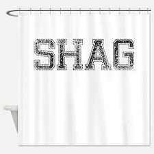SHAG, Vintage Shower Curtain