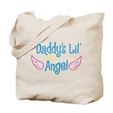Daddys Lil Angel Tote Bag