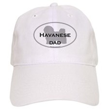 Havanese DAD Baseball Cap