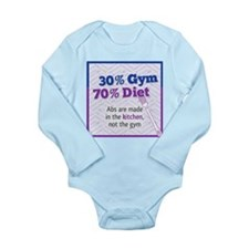 Abs Are Built In The Kitchen Long Sleeve Infant Bo