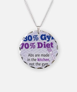 Abs Are Built In The Kitchen Necklace