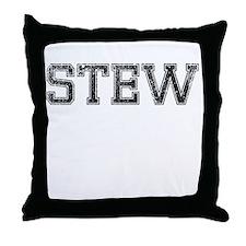 STEW, Vintage Throw Pillow