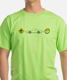 Caution sign Drift and S14 is fun T-Shirt