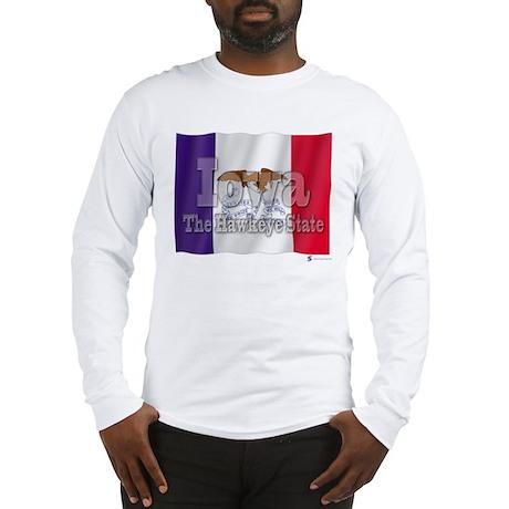 Iowa, The Hawkeye State Long Sleeve T-Shirt