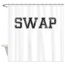 SWAP, Vintage Shower Curtain
