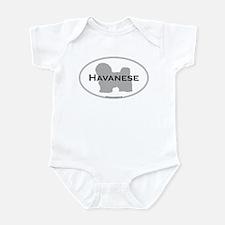 Havanese Infant Creeper
