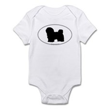 Havanese Silhouette Infant Creeper