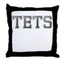 TETS, Vintage Throw Pillow