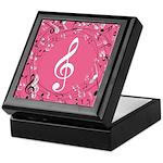 Music Teacher Treble Clef Gift Keepsake Box