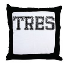 TRES, Vintage Throw Pillow