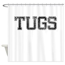 TUGS, Vintage Shower Curtain