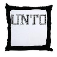 UNTO, Vintage Throw Pillow