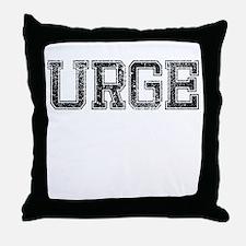 URGE, Vintage Throw Pillow