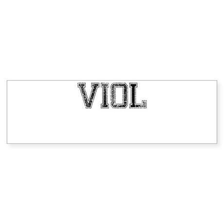 VIOL, Vintage Sticker (Bumper)