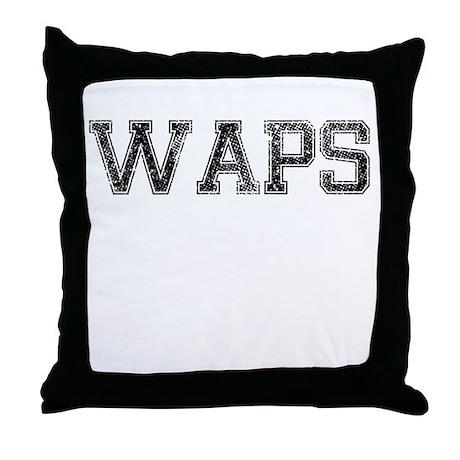 WAPS, Vintage Throw Pillow