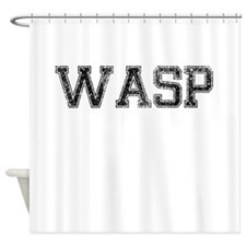 WASP, Vintage Shower Curtain