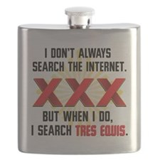 Tres Equis (XXX) Flask