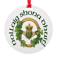 Christmas Claddagh Ornament