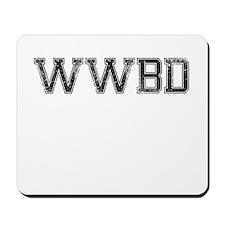 WWBD, Vintage Mousepad