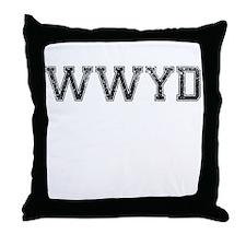 WWYD, Vintage Throw Pillow