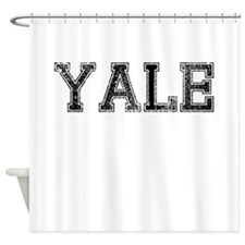 YALE, Vintage Shower Curtain