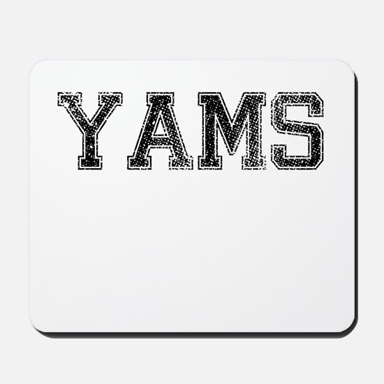 YAMS, Vintage Mousepad