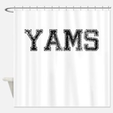 YAMS, Vintage Shower Curtain