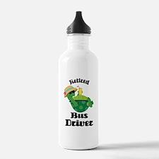 Retired Bus Driver Gift Water Bottle