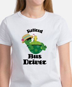 Retired Bus Driver Gift Tee